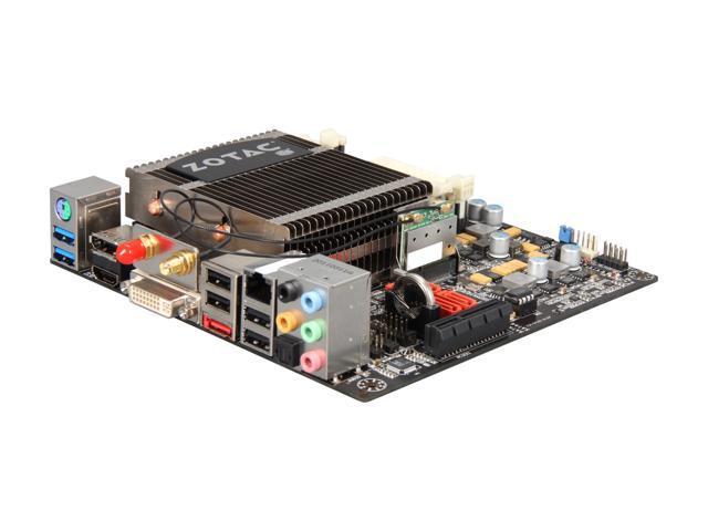 ZOTAC FUSION350-A-E AMD E-350 APU (1.6GHz, Dual-Core) AMD Hudson M1 Mini ITX Motherboard/CPU Combo