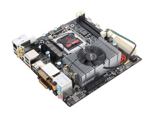 ZOTAC H67ITX-D-E LGA1155 Intel H67 Mini ITX Motherboard/VGA Combo