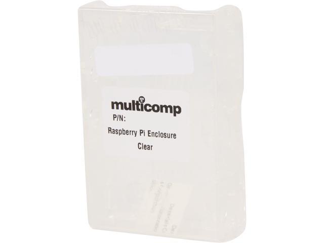 Multicomp Model MC-RP001-CLR Raspberry Pi Enclosures (Clear)