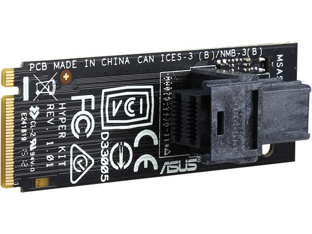 ASUS Model Hyper Kit Expansion Card M.2 TO MINI SAS HD ADAPTER