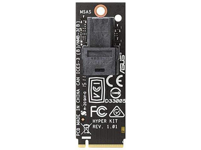 ASUS Model HYPER KIT M.2 to Mini SAS HD adapter