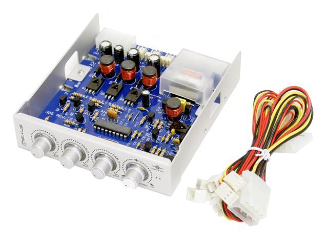 VANTEC NXP-305-SL Fan & Light Controller Panel, Silver