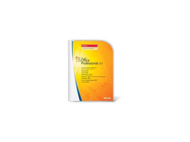 Microsoft Microsoft® Office Professional 2007 Upgrade
