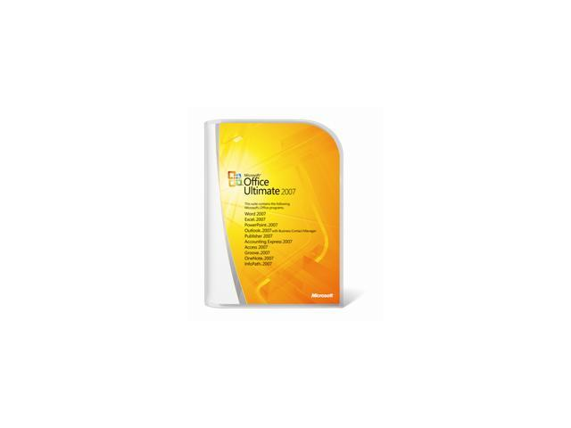 Microsoft Microsoft® Office Ultimate 2007