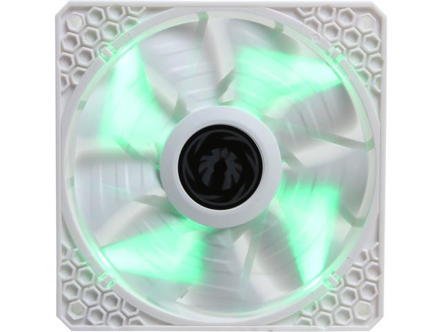 BitFenix Spectre PRO ALL WHITE Green LED 120mm Case Fan