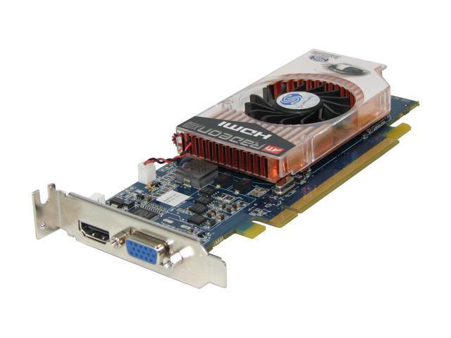 SAPPHIRE Radeon X1600PRO DirectX 9 100167L Low Profile HDMI / SPDIF Video Card