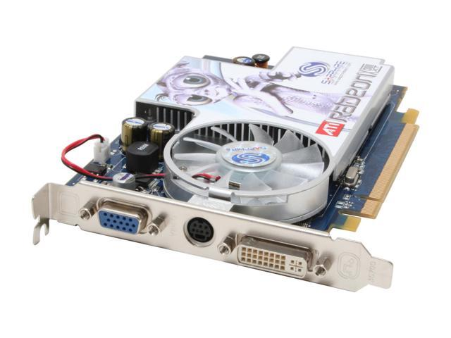SAPPHIRE Radeon X1300XT DirectX 9 100162L 256MB 128-Bit GDDR2 PCI Express x16 CrossFireX Support CrossFire Video Card