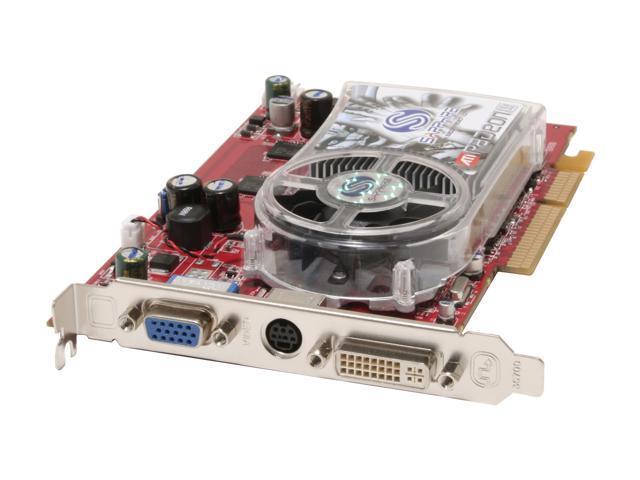 SAPPHIRE Radeon X1650PRO DirectX 9 100175L Video Card