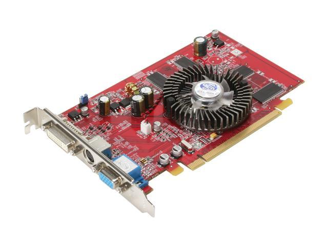 SAPPHIRE Radeon X1050 DirectX 9 100192L Video Card