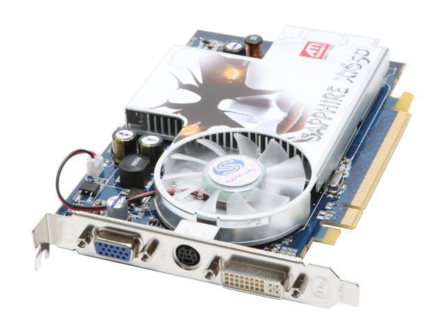 SAPPHIRE Radeon X1650 DirectX 9 100195L Video Card