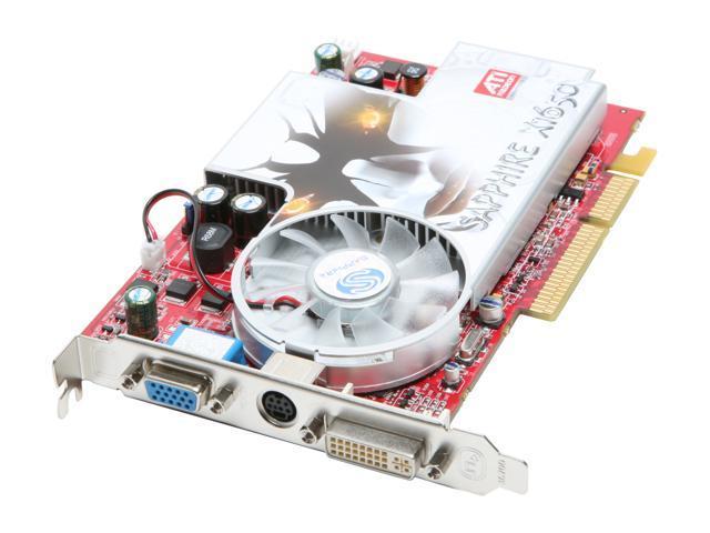 SAPPHIRE Radeon X1650 DirectX 9 100197L 256MB 128-Bit GDDR2 AGP 4X/8X Video Card