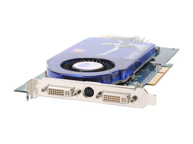 SAPPHIRE Radeon X1950GT DirectX 9 100209L 256MB 256-Bit GDDR3 AGP 8X HDCP Ready Video Card