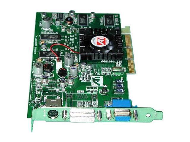ATI Radeon 7500 DirectX 7 RADEON 7500 64MB DDR AGP 2X/4X Video Card