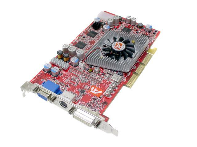 ATI Radeon 9800PRO DirectX 9 100-435002 128MB 256-Bit DDR AGP 4X/8X Video Card