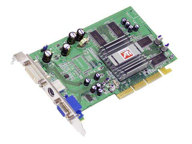 SAPPHIRE Radeon 9200 DirectX 8 RADEON 9200 128M DVI Video Card - OEM