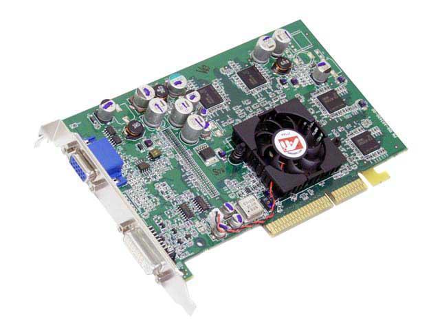 ATI 100505066 FireGL 9600 128MB 128-bit DDR AGP 4X/8X Workstation Video Card