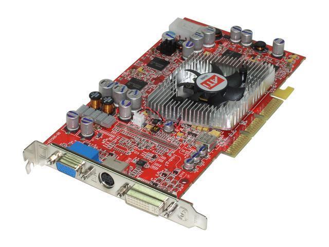 SAPPHIRE Radeon 9800PRO DirectX 9 100556-RD 128MB 256-Bit DDR AGP 4X/8X Video Card