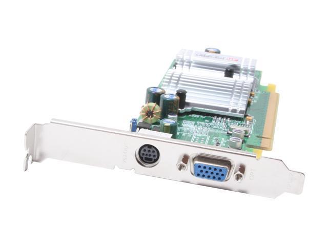 SAPPHIRE Radeon X300SE DirectX 9 1024-2C50-04-SA 128MB 64-Bit DDR PCI Express x16 Low Profile Video Card