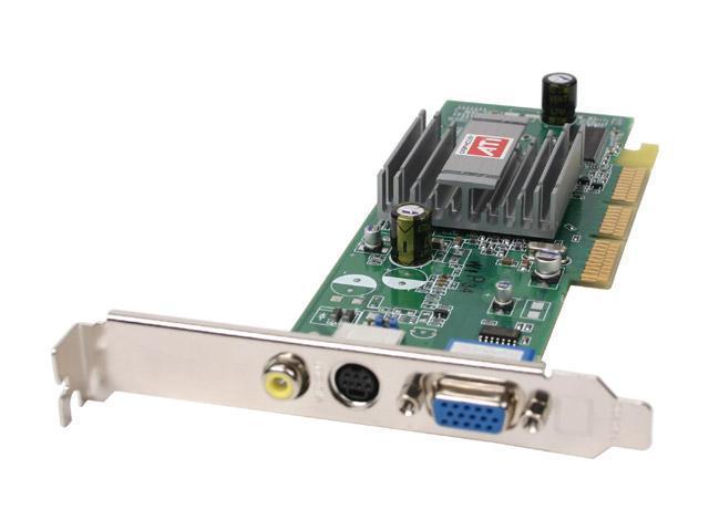 SAPPHIRE Radeon 9250 DirectX 8 100583-GN-H 128MB 64-Bit DDR AGP 4X/8X Low Profile Video Card