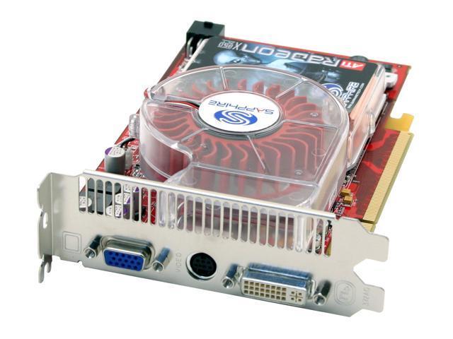 SAPPHIRE Radeon X850XT DirectX 9 100106SR-RD 256MB 256-Bit GDDR3 PCI Express x16 Video Card