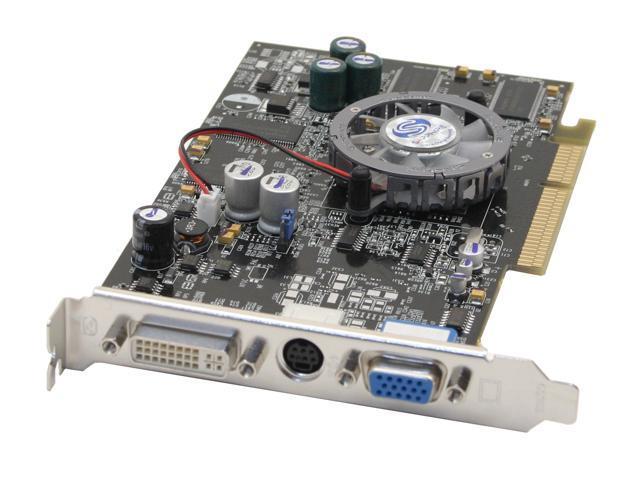 SAPPHIRE Radeon 9600XT DirectX 9 100573L-BK 128MB 128-Bit DDR AGP 4X/8X Video Card