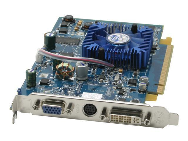 SAPPHIRE Radeon X700 DirectX 9 100121 Video Card - OEM