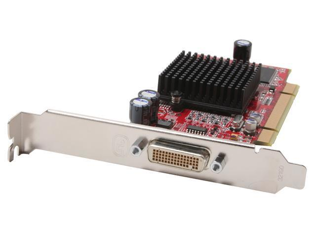 AMD FireMV 2200 100-505109 64MB 64-bit DDR PCI Low Profile Workstation Video Card