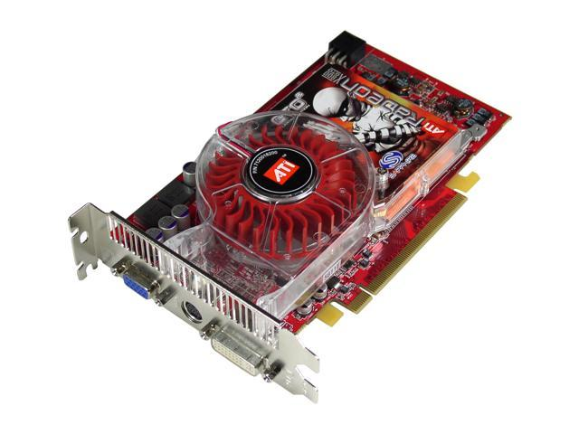 SAPPHIRE Radeon X800GTO2 DirectX 9 100130SR Deluxe Video Card