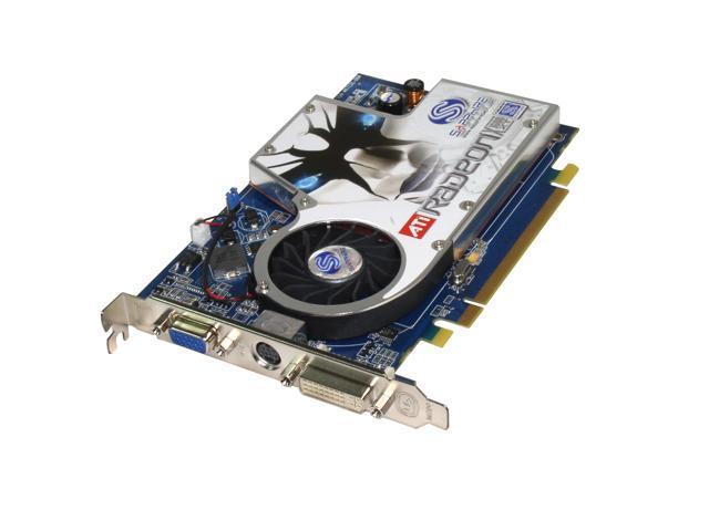 SAPPHIRE Radeon X1600XT DirectX 9 100146-BL 256MB 128-Bit GDDR3 PCI Express x16 CrossFire Supported Video Card