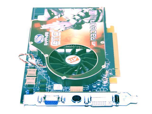 SAPPHIRE Radeon X800GTO2 DirectX 9 100130L-BL Video Card