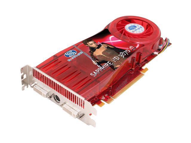 SAPPHIRE Radeon HD 3870 DirectX 10.1 100215L Video Card