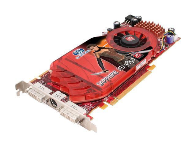 SAPPHIRE Radeon HD 3850 DirectX 10.1 100216L Video Card