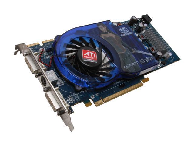 SAPPHIRE HD 3000 Radeon HD 3850 DirectX 10.1 100226L 512MB 256-Bit GDDR3 PCI Express 2.0 x16 HDCP Ready CrossFireX Support Video Card