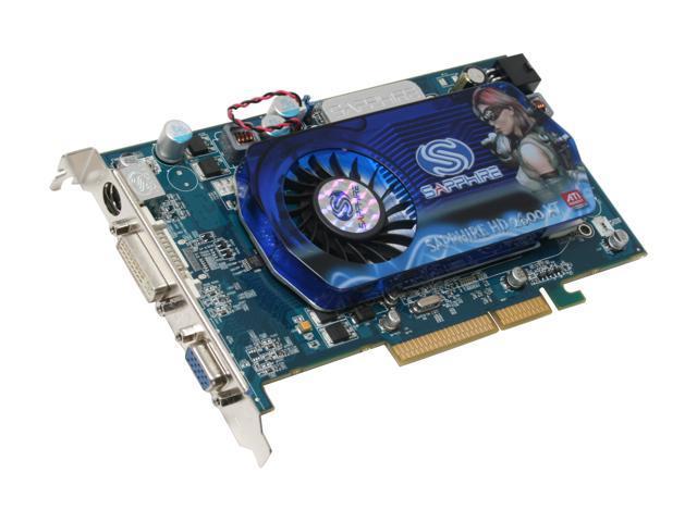 SAPPHIRE Radeon HD 2600XT DirectX 10 100229L Video Card