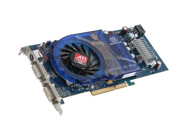 SAPPHIRE Radeon HD 3850 DirectX 10.1 100228L 512MB 256-Bit GDDR3 AGP 4X/8X HDCP Ready Video Card