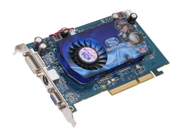 SAPPHIRE Radeon HD 2600PRO DirectX 10 1011 512MB 128-Bit GDDR2 AGP 8X HDCP Ready Video Card