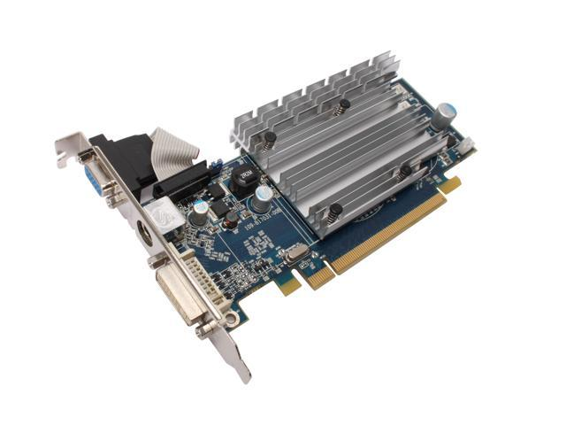 SAPPHIRE Radeon HD 3450 DirectX 10.1 100234VGAL 512MB 64-Bit GDDR2 PCI Express 2.0 x16 HDCP Ready CrossFireX Support Video Card