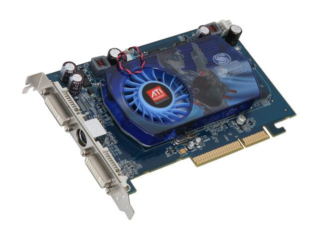 SAPPHIRE Radeon HD 3650 DirectX 10.1 100238L 512MB 128-Bit GDDR2 AGP 4X/8X HDCP Ready Video Card