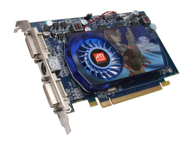 SAPPHIRE Radeon HD 3650 DirectX 10.1 100236-1GL 1GB 128-Bit GDDR2 PCI Express 2.0 x16 HDCP Ready CrossFireX Support Video Card