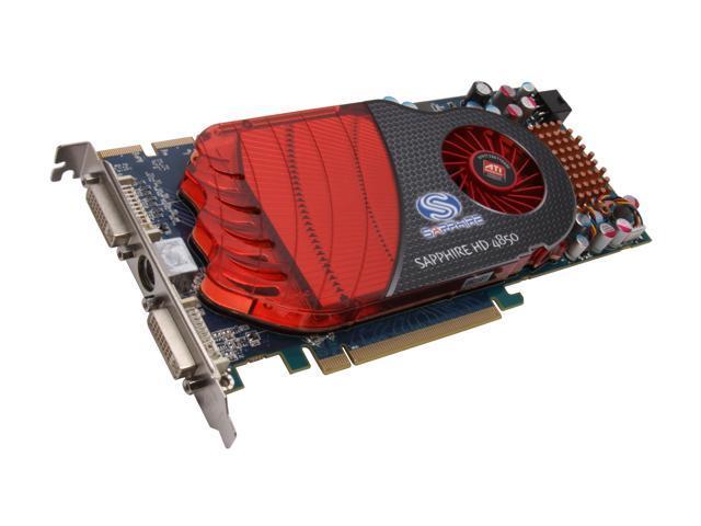 SAPPHIRE Radeon HD 4850 DirectX 10.1 100244L Video Card