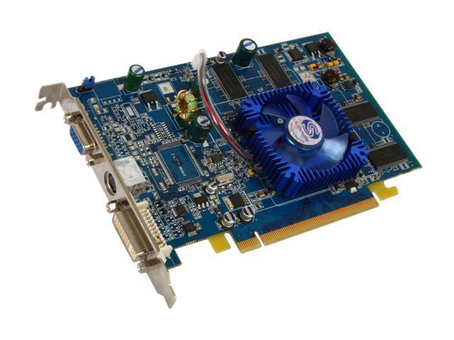 SAPPHIRE Radeon X700SE DirectX 9 1026 128MB 64-Bit DDR PCI Express x16 Video Card