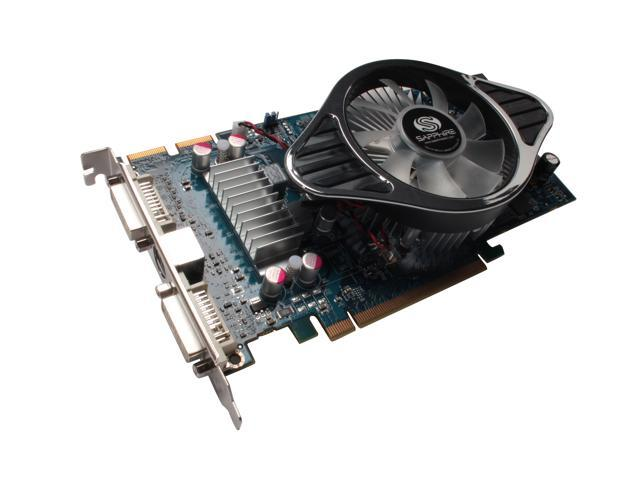 SAPPHIRE Radeon HD 4850 DirectX 10.1 100258-1GL 1GB 256-Bit GDDR3 PCI Express 2.0 x16 HDCP Ready CrossFireX Support Video Card