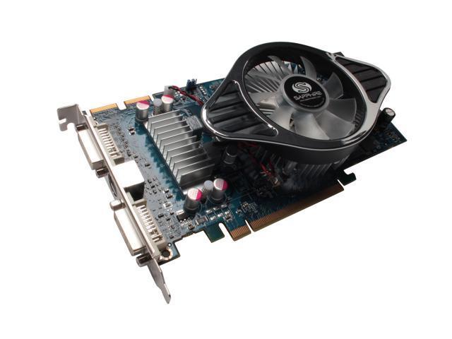 SAPPHIRE Radeon HD 4850 DirectX 10.1 100258-1GL 1GB 256-Bit GDDR3 PCI Express 2.0 x16 HDCP Ready CrossFireX Support Video Card