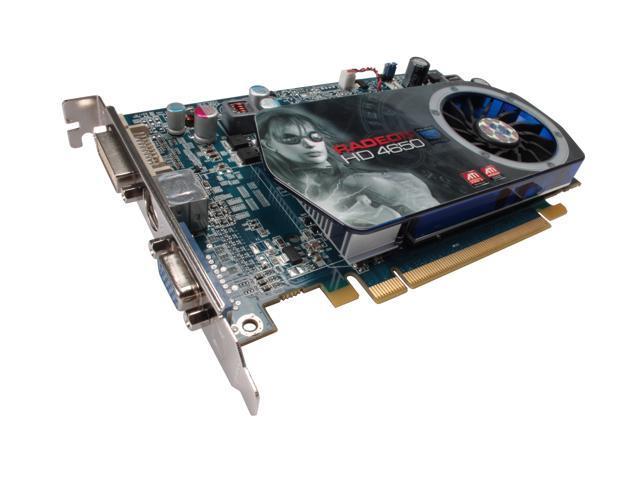 SAPPHIRE Radeon HD 4650 DirectX 10.1 100254L Video Card