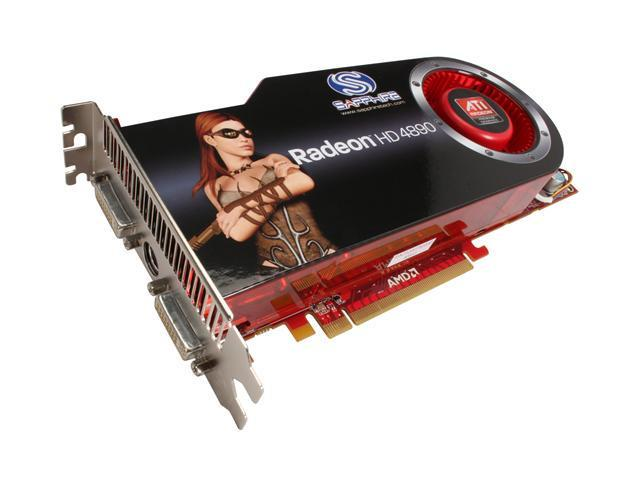 SAPPHIRE Radeon HD 4890 DirectX 10.1 100269OCSR Video Card - OC edition