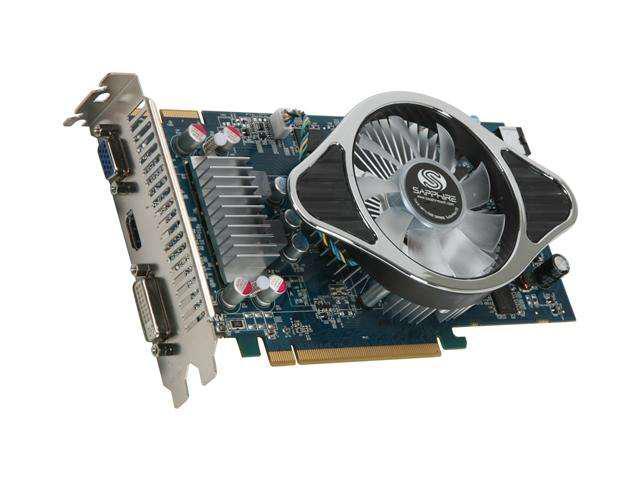 SAPPHIRE HD 4000 Radeon HD 4850 DirectX 10.1 100258-1GHDMI 1GB 256-Bit GDDR3 PCI Express 2.0 x16 HDCP Ready CrossFireX Support Video Card