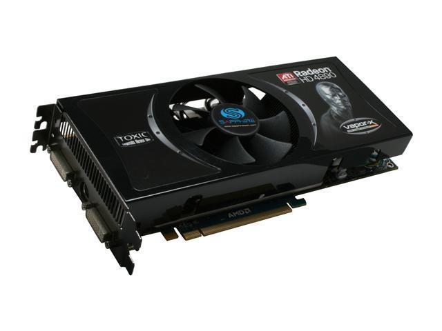 SAPPHIRE Toxic Radeon HD 4890 DirectX 10.1 100269TXSR 1GB 256-Bit GDDR5 PCI Express 2.0 x16 HDCP Ready CrossFireX Support Video Card