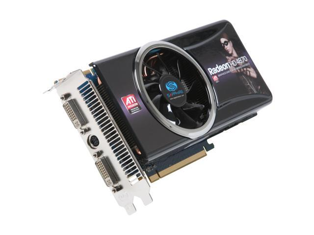 SAPPHIRE Radeon HD 4870 DirectX 10.1 279L Video Card
