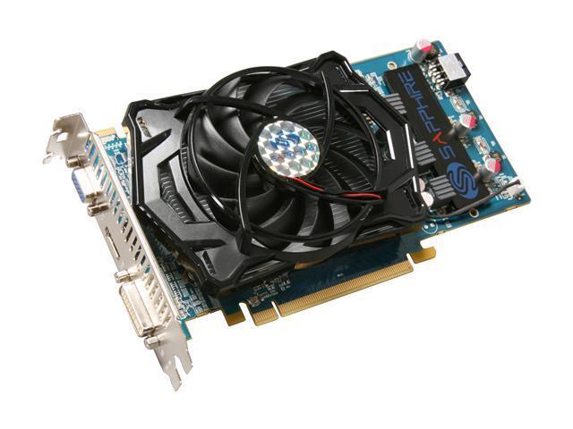 SAPPHIRE Radeon HD 4770 DirectX 10.1 100277HDMI 512MB 128-Bit GDDR5 PCI Express 2.0 x16 HDCP Ready CrossFireX Support Video Card