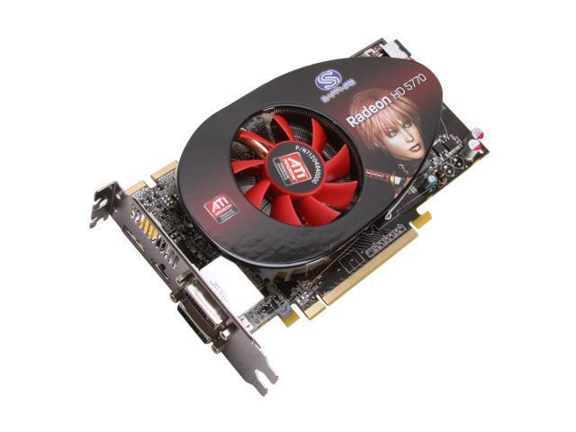SAPPHIRE Radeon HD 5770 DirectX 11 100283-2L 1GB 128-Bit